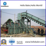 Automatic Hydraulic Baler for Waste Paper Cardboard with Conveyor