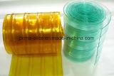 PVC Cortina De La Tira, PVC Curtain, PVC Strip Cortina, PVC Ribbed Curtain