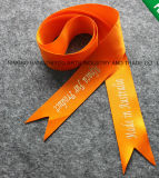 2018 Wholesale Christmas Polyester Gift Ribbon with Custom Logo and Shape
