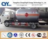 New China LNG Liquid Oxygen Nitrogen Argon Carbon Dioxide Fuel Tank Car Semi Trailer