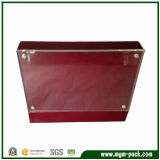 Special Design Red Wooden Picture Frame with Acrylic Board
