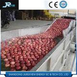 Industrial Bubble High Pressure Spraying Roller Brush Potato Washing Machine