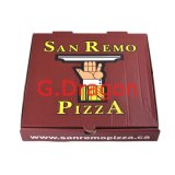 Corrugated Cardboard Box for Pizzas, Cake Boxes, Cookie Containers (PIZZ-010)