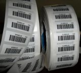 Custom Paper Barcode Label with Black Printing