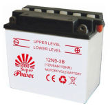 Dry Charged and Maintenance Free Motorcycle Battery 6N 12N YTX Serial with Long Storage Life