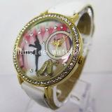 Diamond Alloy Case Watch Cheap Fashion Quartz Watch (HL-CD026)