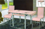 Extendable Dining Table, Glass Table, Folding Table (B-02)