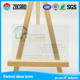 Thermal Printer Printing Cr80 Transparent PVC Card