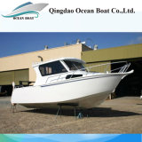 Hot Sale 25FT 7.5m Aluminum Lifestyle Boat for Fishing with Ce