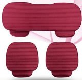 Hot Sale Red Car Seat Mat Cushion