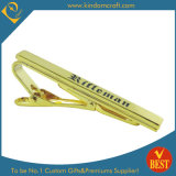 2015 Custom High Quality Golden Finish Metal Tie Clip for Sale