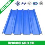 Plastic Corrugated PVC Roof Sheet Trapezoidal 910
