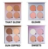 Highlighter Powder Glow Kit Makeup Compact Powder