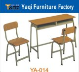 School Desk Furniture, School Desk and Chair (YA-014)