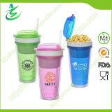 16oz BPA Free Snack Tumbler with Staw for Kids (TB-B401)