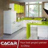 Spring Morning Fashion Stoving Varnish Finish Lacquer Kitchen Cabinet (CAIK-03)