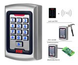 Metal Case Proximity Access Control Card and Pin Reader RF004e