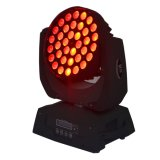 36X12W RGBWA UV LED Moving Head Light with Zoom Wash Function