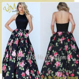 2017 Hot Sexy Flower Women Ladies Formal Long Dress