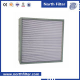 Industrial HVAC Deep Pleated High Temperature HEPA Filter with Separator
