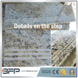 Polished Yellow Natural Stone/ Grantie Stairs/Step&Riser for Interior Floor/Upstairs