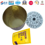 Round Shaped Container Pet Food Container for Pet Dog Cat