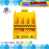 Book Rack, Wooden Toy Cupboard, Taxi Modeling Toys Rack (XYH12141-5)