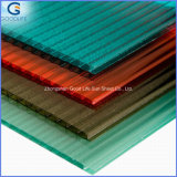 4mm/6mm Translucent Double Skin Polycarbonate Hollow Sheet