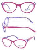 2015 Hotsell Women Men Acetate Optical Kids Eyeglasses Frames with Spring Hinge