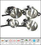 T304 Waterless Stainless Steel Cookware Sey