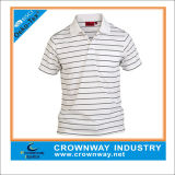 Yarn Dyed Striped Comfortable Polo Shirt for Men (CW-PS-10)