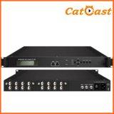 Professional IRD with 8X DVB-S2 Tuner Input, Asi Output