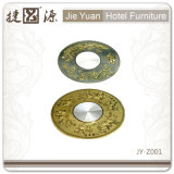 Factory Price Hotel Furniture Transparent Lazy Susan (JY-Z001)