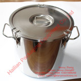 Noncorrosive Stainless Steel Airtight Transportation Container