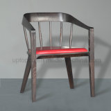 Brown Color Walnut Wood Restaurant Armchair (SP-EC636)