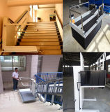 Public Place Inclined Stair Chair Lift/Electric Wheelchair Lift Table