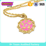 Gold Round Necklace Fashion Accessories for Women (14600)