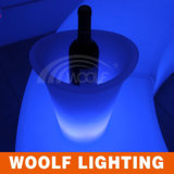 LED Glowing Plastic Champagne Ice Bucket