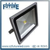 COB Chip 50W LED Flood Light with Aluminum+Stalinite (F-N1-50W)