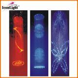 LED Crystal Fiber Optic Wedding Chandelier Ceiling Light (ICON-FC-10)