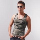 Cool Mens Camo Gym Vest