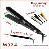 Colorful LED Display and Long Plate Hair Straightener