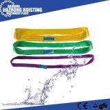 Endless Polyester Flat Webbing Sling 3ton Weight Lifting Sling