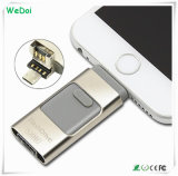 3 in 1 OTG USB Flash Drive for iPhone5/6/iPad/Andriod Phones (WY-pH19)