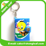 Customize PVC Rubber Cover Memos Mini Book with Keyring