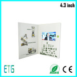 "Offset Printed 2.4""/2.8""/3.5""/4.3""/7""LCD Video Brochure Printing"