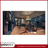 Branded Menswear Shop Design with Unique Display Furnitures From Factory