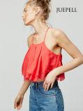 Ruff Chiffon Summer Women Crop Top