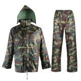 Army Rainsuit/ Rainwear in Woodland Camouflage