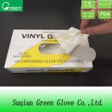 Transparent Vinyl Examination Gloves